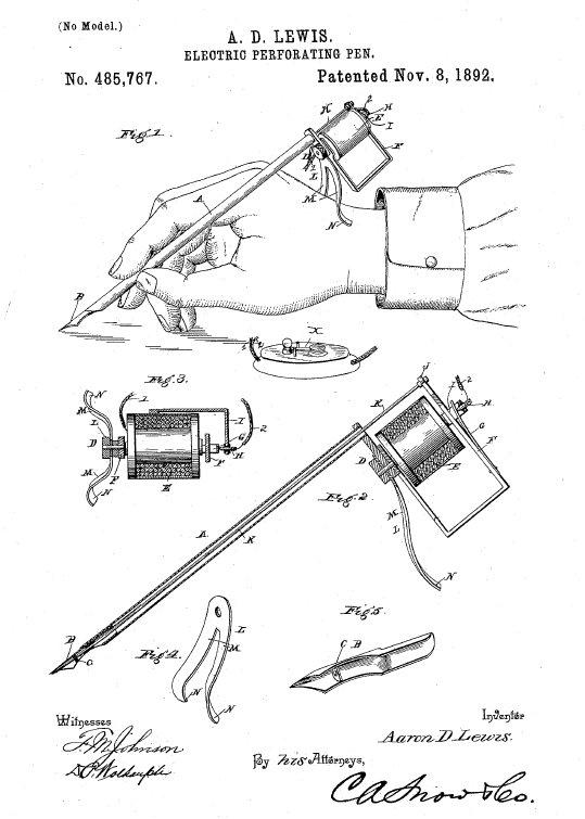 electric tattoo machine history