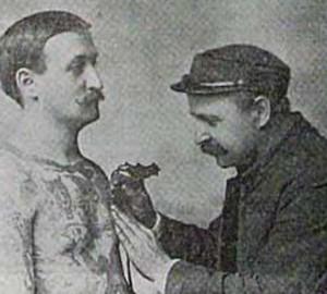 Elmer Getchell Tattooing. New York Tribune. Oct 26, 1902. Print.