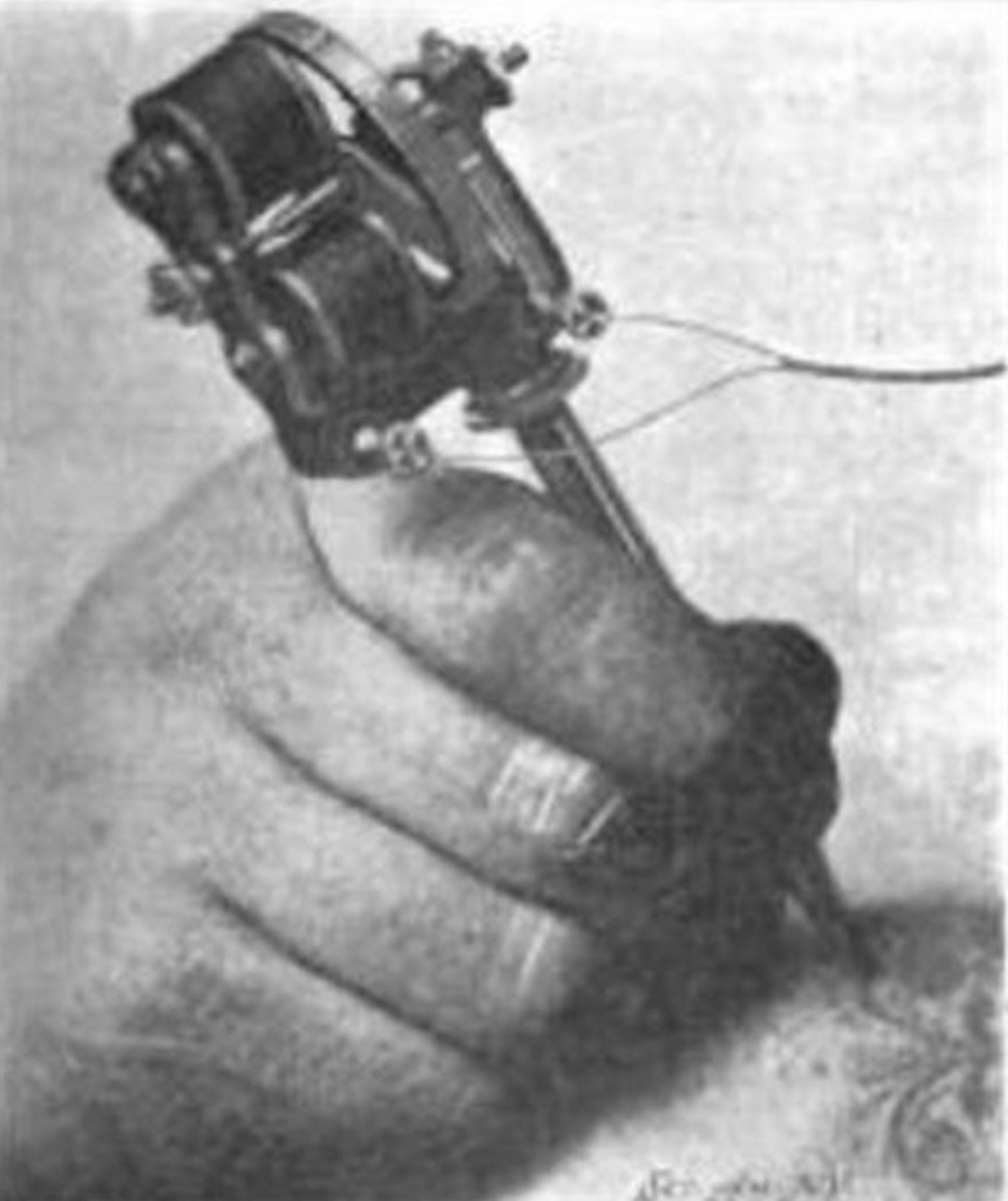 Circuit Diagram Tattoo Electric Machine History The Tattooing Needle Scientific American Sept 12 1903 Pg 189