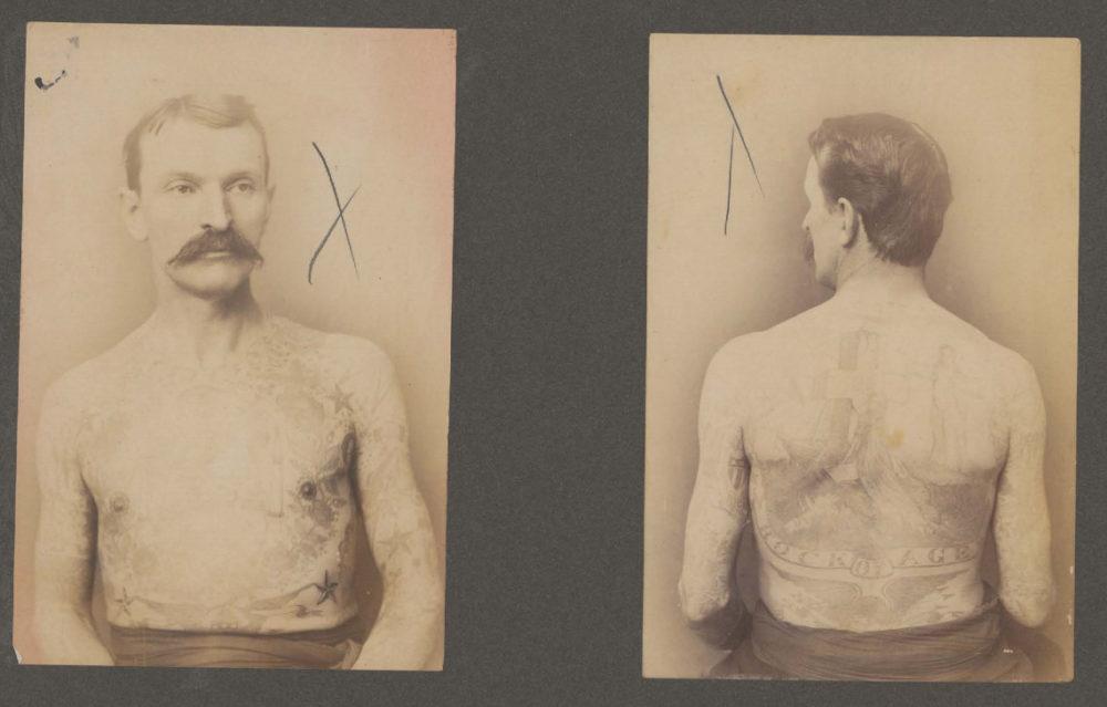 Ambrose Fred Hadley Tattooed Man