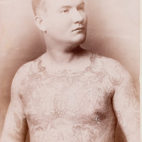 John O'Reilly: Tattooed Irishman. © American Antiquarian Society.