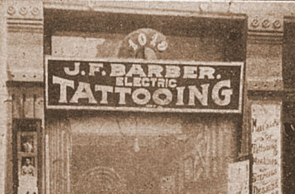 J.F. Barber: Tattoo Trade Professional