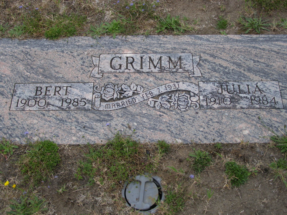 Tattoo Artists Bert Grimm's final resting place