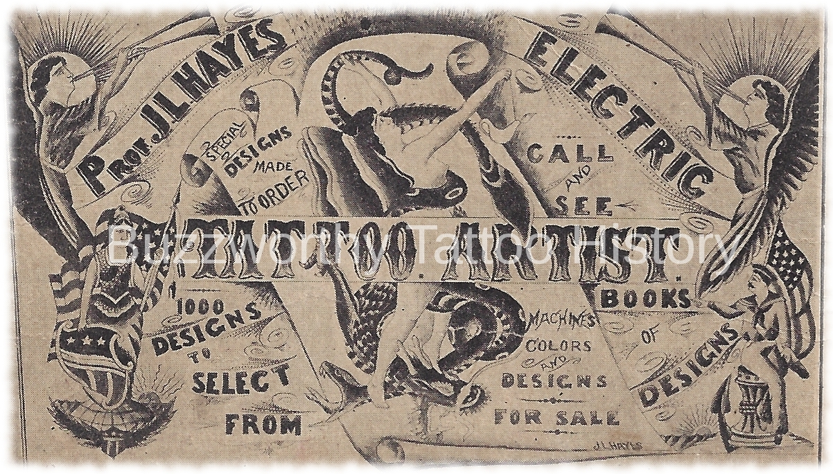 The Case of an Obscure Tattooer: Prof. J.L. Hayes
