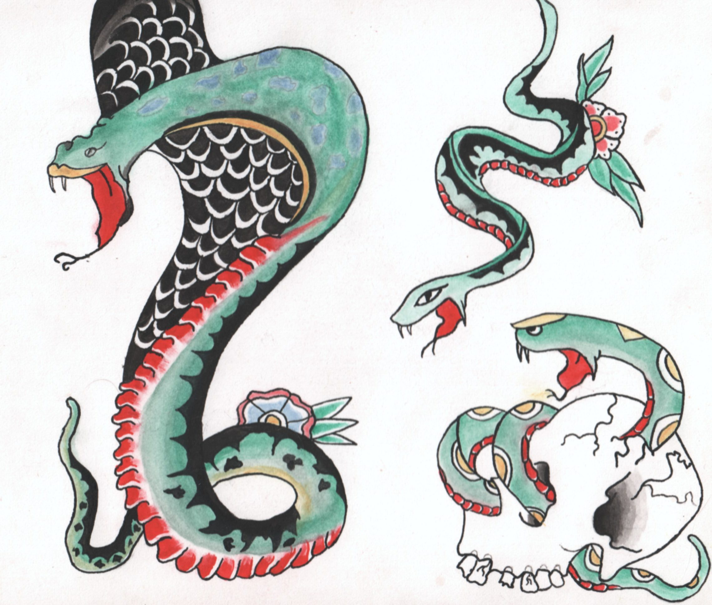 Snakes in the Tattoo Biz: The X Factor