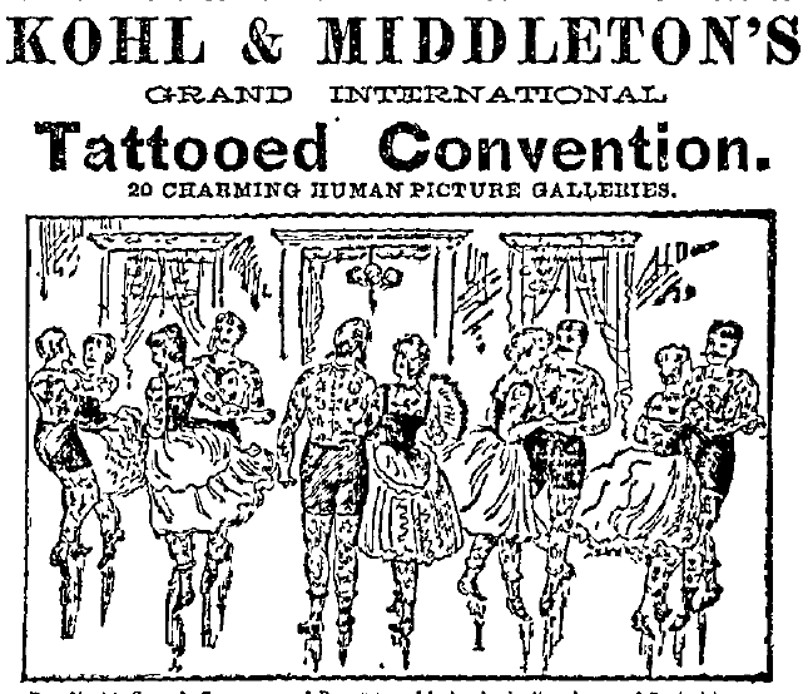 Tattooed Convention: Congress of Tattooed People