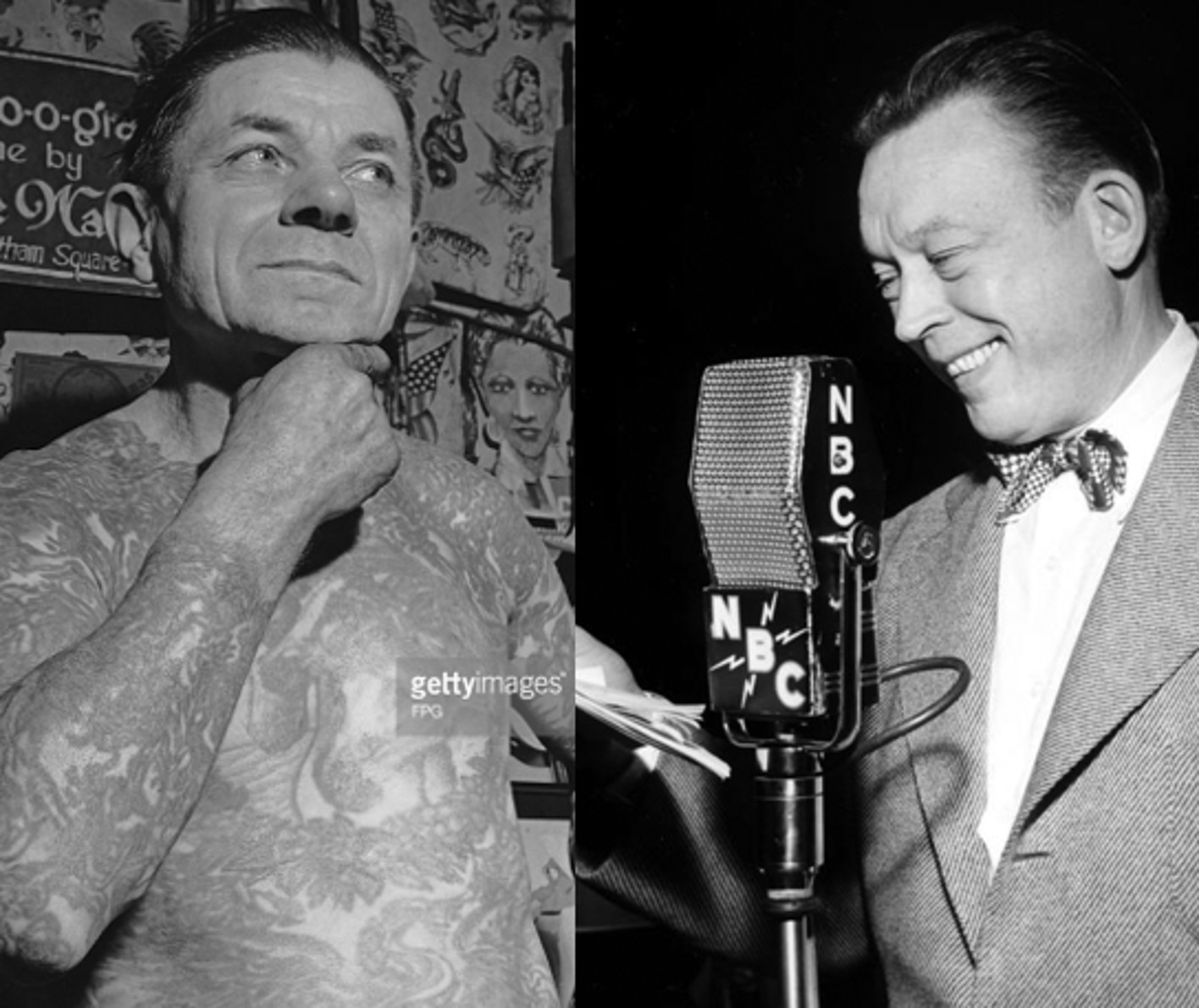 Wagner, Tattooer, Quips with Fred Allen