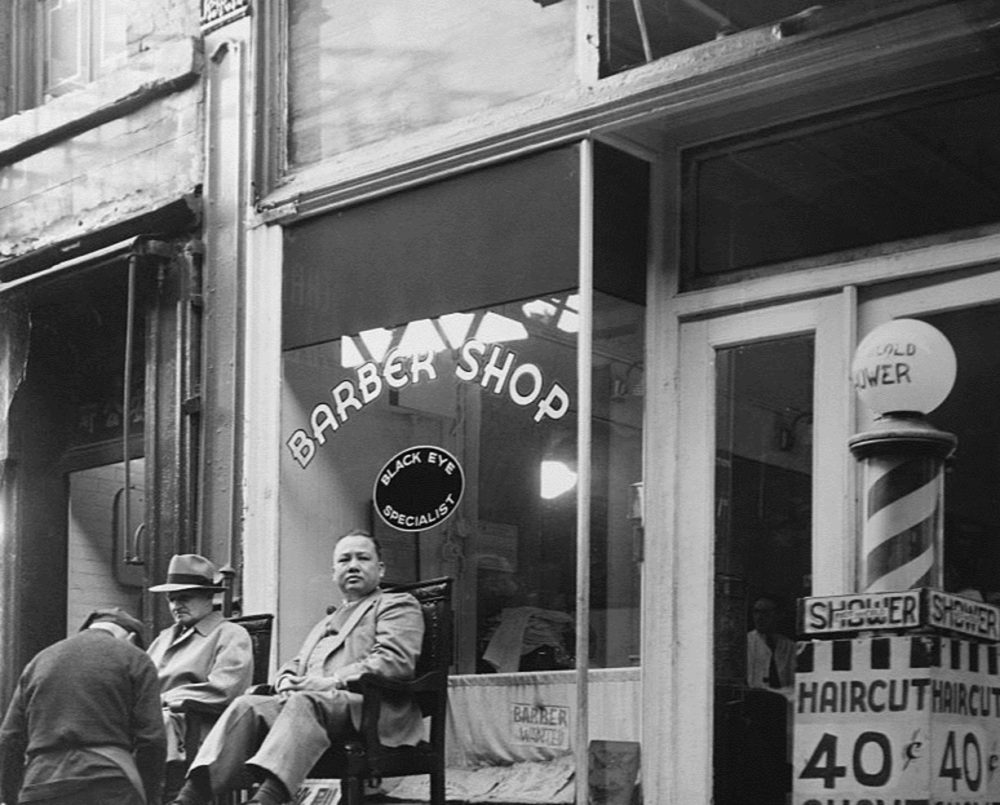 11 Chatham Square, Charlie Wagner's tattoo shop and black eye repair