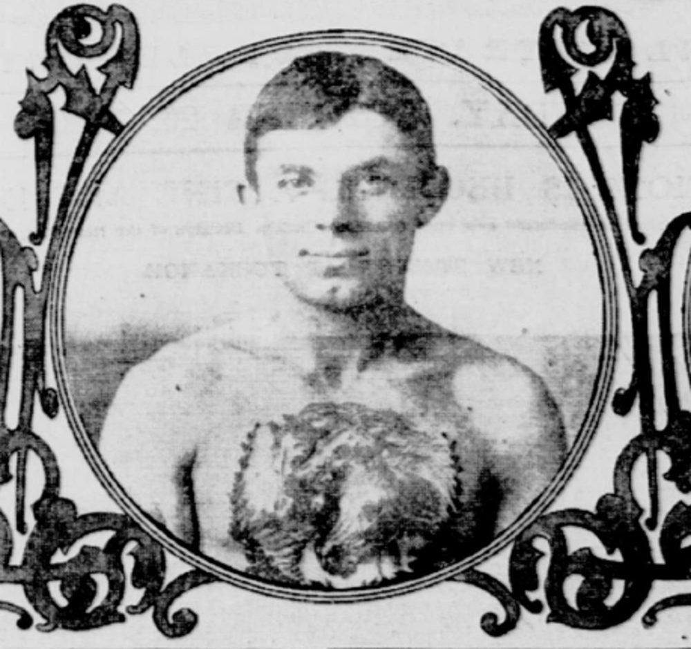 Bowery Tattooer Charlie Wagner c. 1902