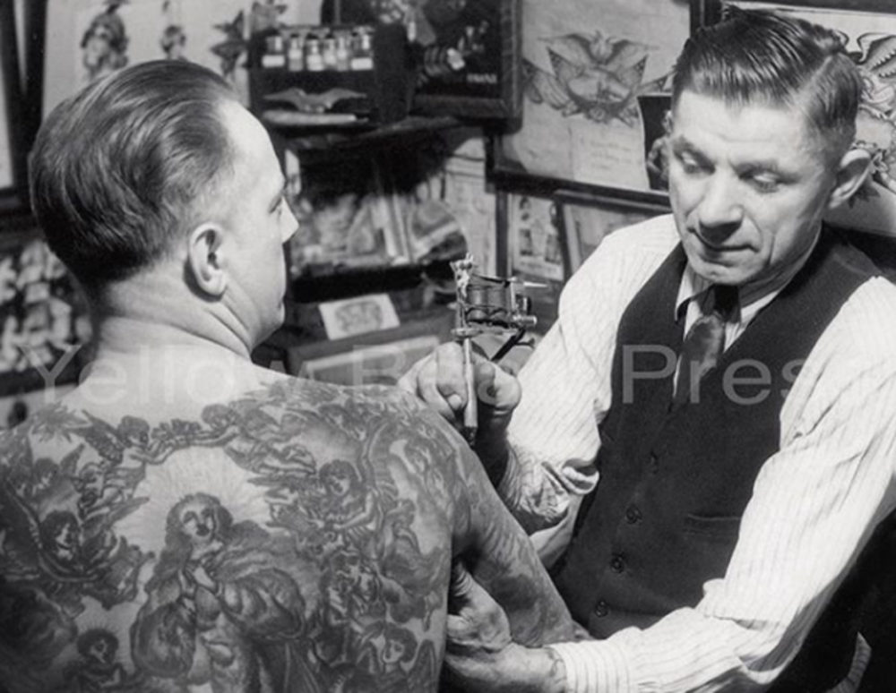 Willy Moskowitz: Bowery Barber-Tattoo Artist
