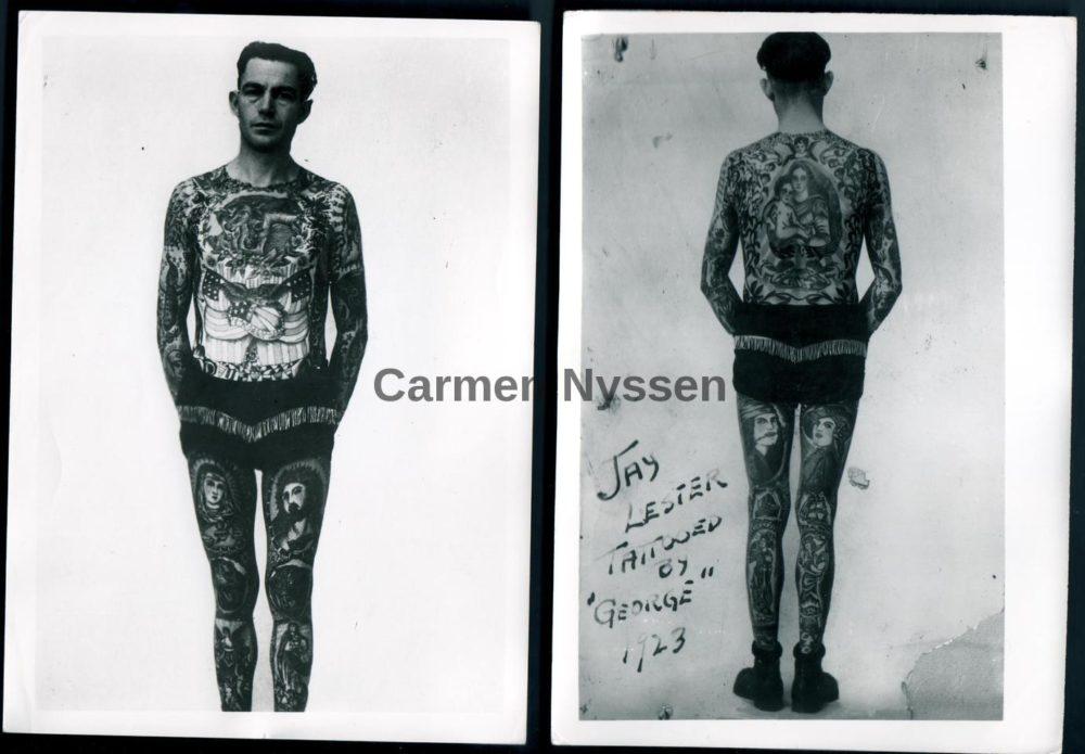 sailor george fosdick tattooer