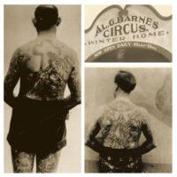 Belle femme tatouée . image libre de droit par iofoto