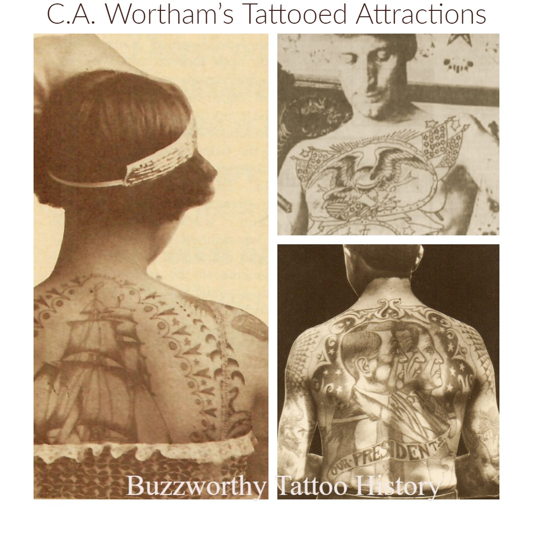 C. A. Wortham\'s Tattooed Attractions